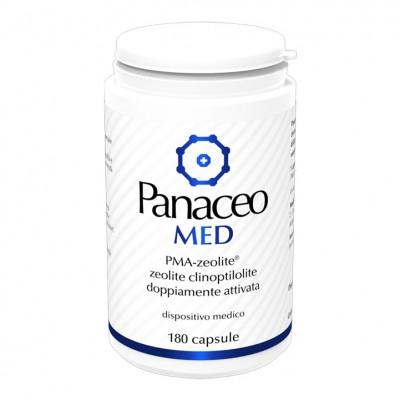 PANACEO MED 80CPS 100% ZEOLITE ATTIVATA