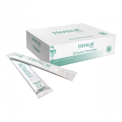 HEPILOR LIQUIDO MONODOSE 20 STICK PACK 20 ML